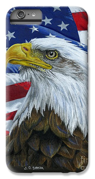American Eagle IPhone 6 Plus Case by Sarah Batalka
