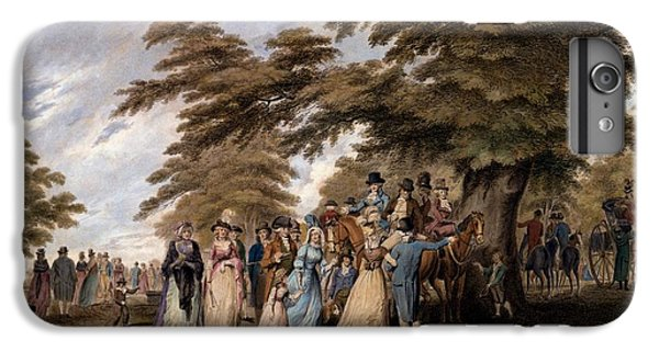 An Airing In Hyde Park, 1796 IPhone 6 Plus Case by Edward Days