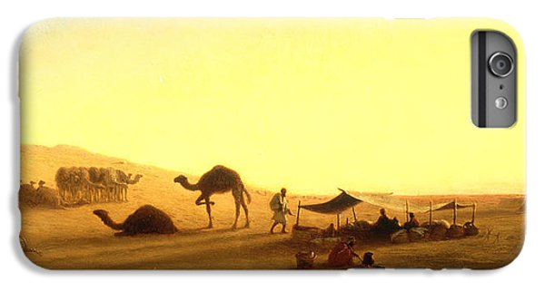 An Arab Encampment  IPhone 6 Plus Case by Charles Theodore Frere