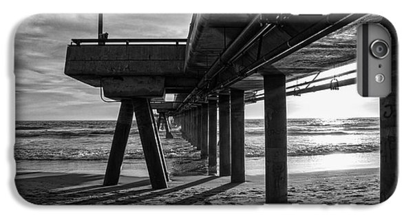 An Evening At Venice Beach Pier IPhone 6 Plus Case by Ana V Ramirez