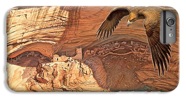 Eagle iPhone 6 Plus Case - Anasazi - Ancient Ones by Paul Krapf