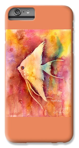 Angelfish II IPhone 6 Plus Case by Hailey E Herrera