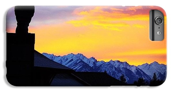 Another Awesome Bc Sunrise! #bc #canada IPhone 6 Plus Case