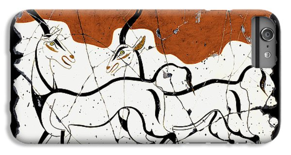 Bogdanoff iPhone 6 Plus Case - Antelope Of Akrotiri by Steve Bogdanoff