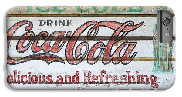 Antique Coca Cola Sign  IPhone 6 Plus Case