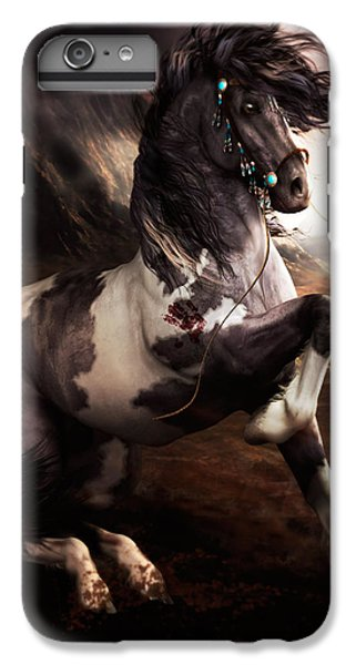 Apache Blue IPhone 6 Plus Case by Shanina Conway