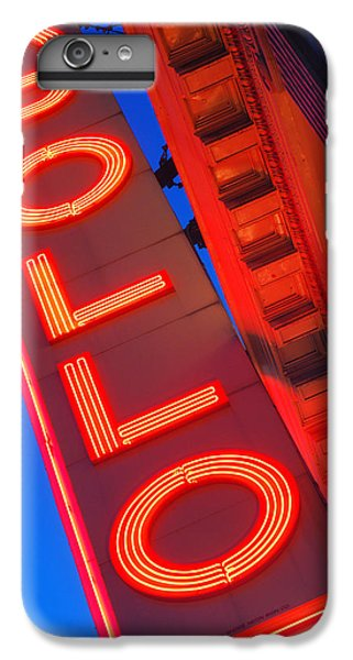 Harlem iPhone 6 Plus Case - Apollo Nights by James Kirkikis