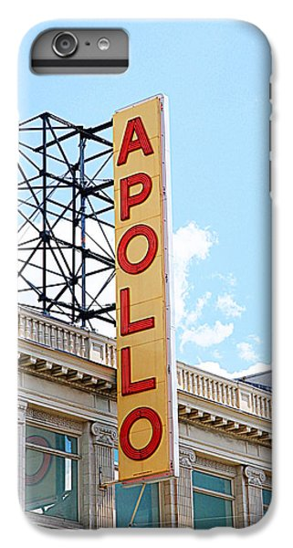 Harlem iPhone 6 Plus Case - Apollo Theater Sign by Valentino Visentini