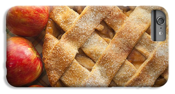 Apple Pie With Lattice Crust IPhone 6 Plus Case by Diane Diederich