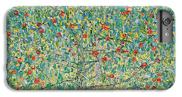 Garden Snake iPhone 6 Plus Case - Apple Tree I by Gustav Klimt