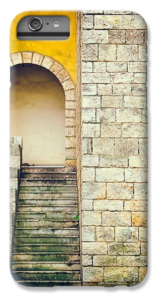IPhone 6 Plus Case featuring the photograph Arched Entrance by Silvia Ganora