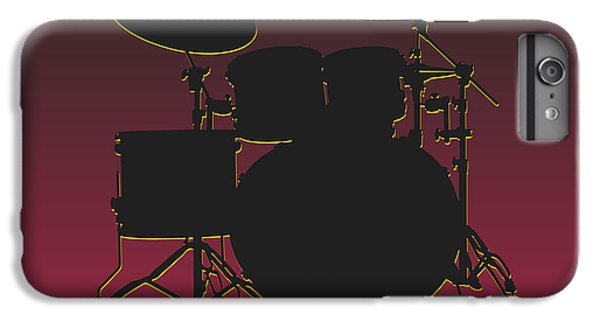Arizona Cardinals Drum Set IPhone 6 Plus Case by Joe Hamilton