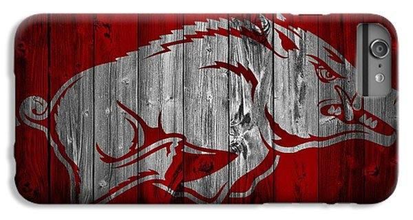Arkansas Razorbacks Barn Door IPhone 6 Plus Case