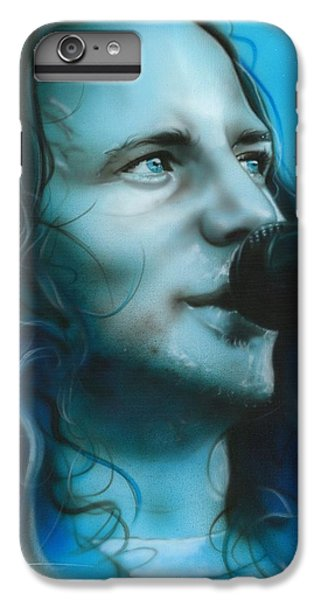 Eddie Vedder - ' Arms Raised In A V ' IPhone 6 Plus Case by Christian Chapman Art