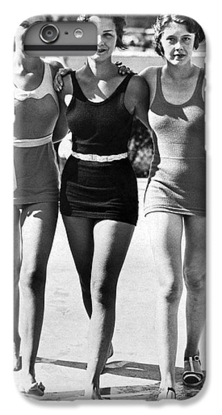 Army Bathing Suit Trio IPhone 6 Plus Case by Underwood Archives