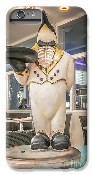 Art Deco Penguin Waiter South Beach Miami - Hdr Style IPhone 6 Plus Case by Ian Monk