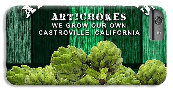 Artichokes Farm IPhone 6 Plus Case