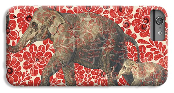 Asian Elephant-jp2185 IPhone 6 Plus Case by Jean Plout