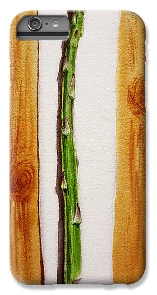 Asparagus Tasty Botanical Study IPhone 6 Plus Case