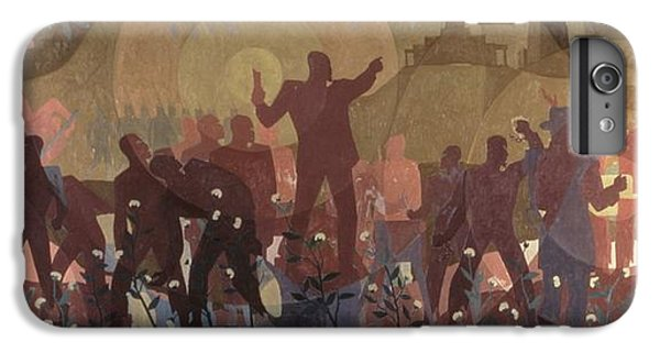 Harlem iPhone 6 Plus Case - Aspects Of Negro Life by New York Public Library/aaron Douglas