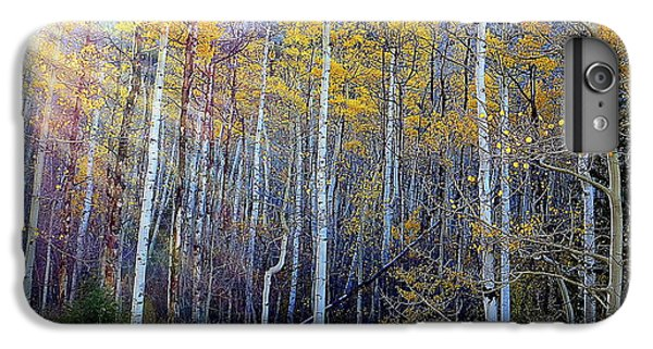 IPhone 6 Plus Case featuring the photograph Aspen Sunset by Karen Shackles