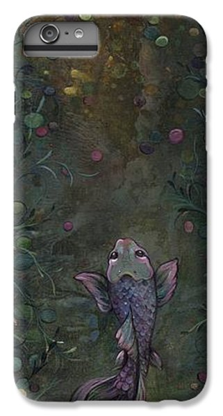 Aspiration Of The Koi IPhone 6 Plus Case by Shadia Derbyshire