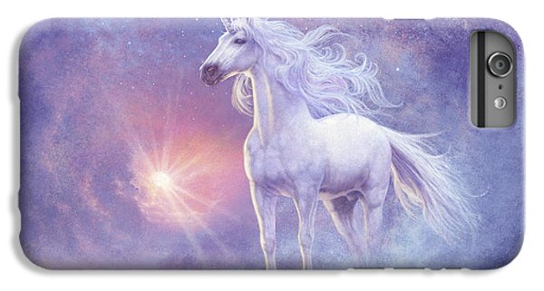 Unicorn iPhone 6 Plus Case - Astral Unicorn by Steve Read
