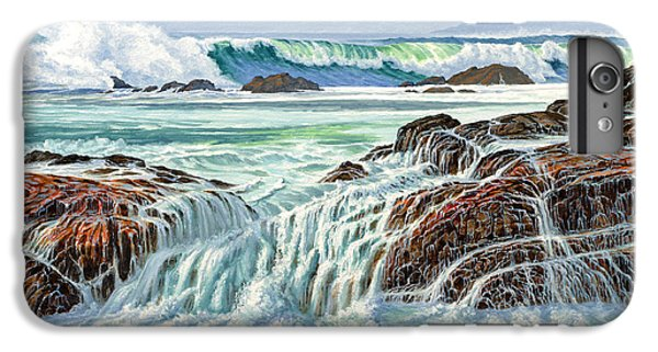 Pacific Ocean iPhone 6 Plus Case - At Point Lobos by Paul Krapf