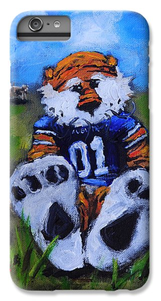 Aubie With The Cows IPhone 6 Plus Case