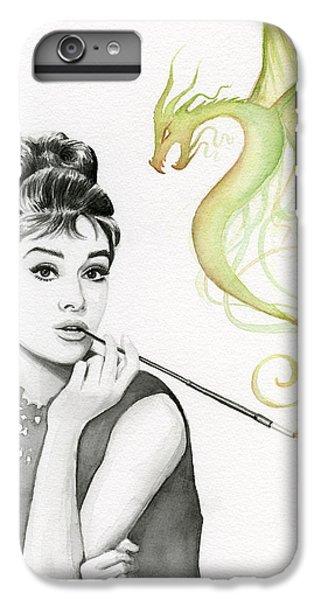 Dragon iPhone 6 Plus Case - Audrey And Her Magic Dragon by Olga Shvartsur