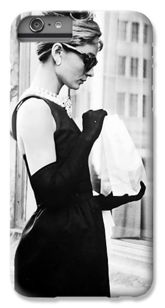 Audrey At Tiffanys IPhone 6 Plus Case by Georgia Fowler