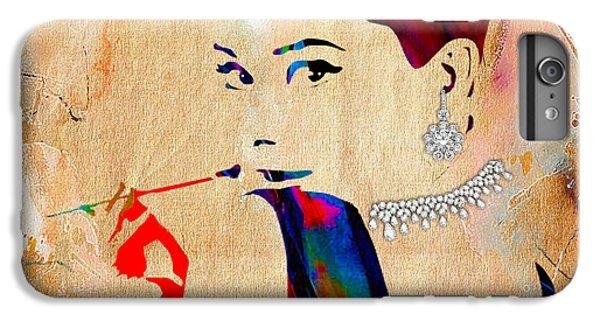Audrey Hepburn Collection IPhone 6 Plus Case by Marvin Blaine