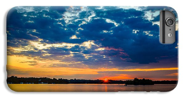 August Sunset Over Lake Nagawicka IPhone 6 Plus Case by Randy Scherkenbach