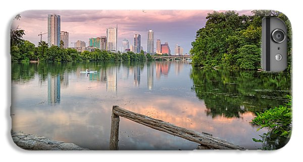 Goose iPhone 6 Plus Case - Austin Skyline From Lou Neff Point by Silvio Ligutti