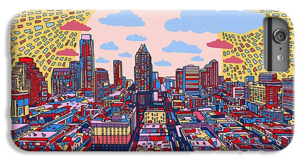 Austin Texas Abstract Panorama 2 IPhone 6 Plus Case