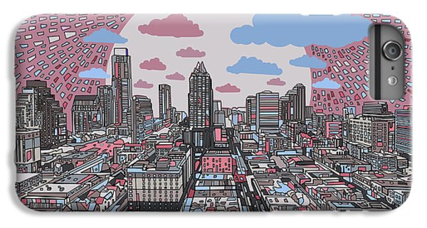 Austin Texas Abstract Panorama 3 IPhone 6 Plus Case
