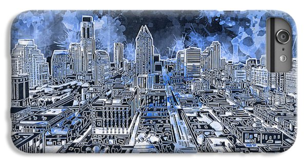 Austin Texas Abstract Panorama 5 IPhone 6 Plus Case