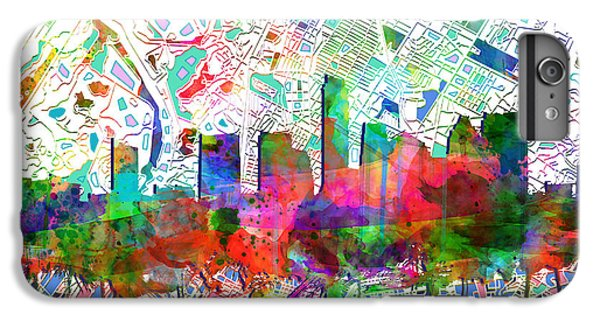 Austin Texas Abstract Panorama 7 IPhone 6 Plus Case