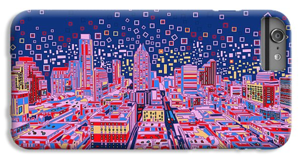 Austin Texas Abstract Panorama IPhone 6 Plus Case