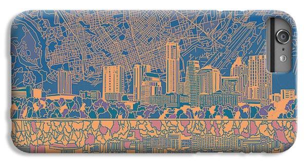 Austin Texas Skyline 2 IPhone 6 Plus Case