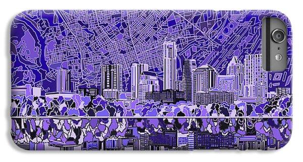 Austin Texas Skyline 4 IPhone 6 Plus Case