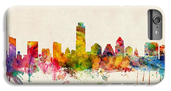 Austin Texas Skyline IPhone 6 Plus Case by Michael Tompsett