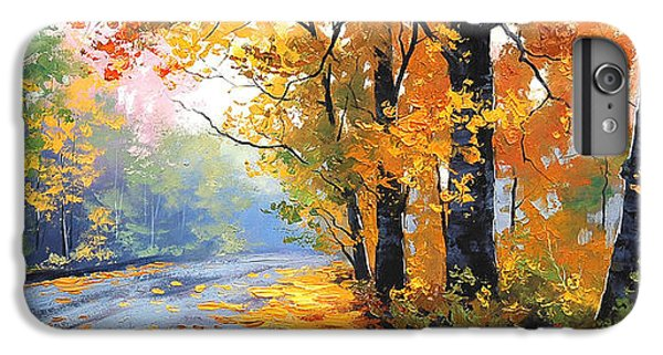 Nature Trail iPhone 6 Plus Case - Autumn Backlight by Graham Gercken