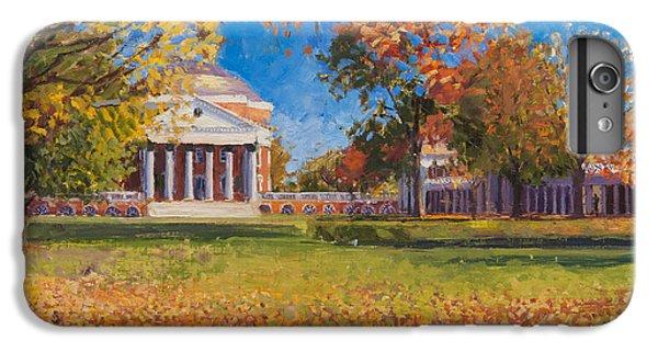 Thomas Jefferson iPhone 6 Plus Case - Autumn On The Lawn by Edward Thomas