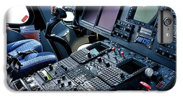 Helicopter iPhone 6 Plus Case - Aw139 Cockpit by Olivier Le Queinec