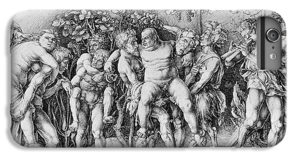 Bacchanal With Silenus - Albrecht Durer IPhone 6 Plus Case by Daniel Hagerman