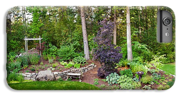 Loon iPhone 6 Plus Case - Backyard Garden In Loon Lake, Spokane by Panoramic Images