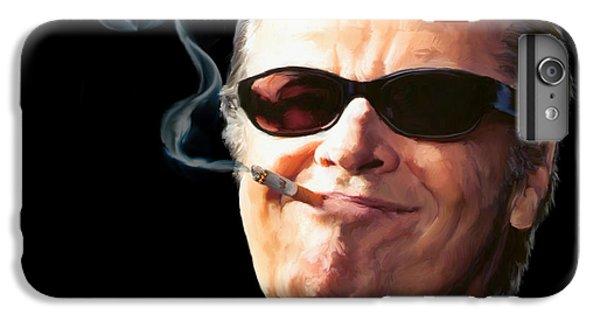 Jack Nicholson iPhone 6 Plus Case - Bad Boy by Paul Tagliamonte