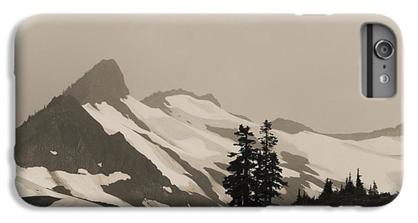 IPhone 6 Plus Case featuring the photograph Fog In Mountains by Yulia Kazansky