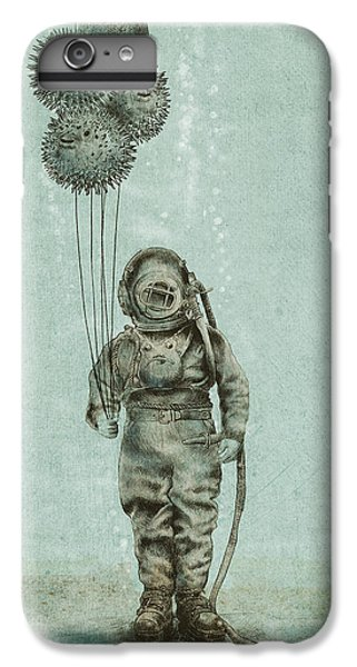 Balloon Fish IPhone 6 Plus Case by Eric Fan